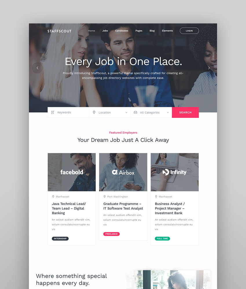 StaffScout - Job Board and Employment Theme