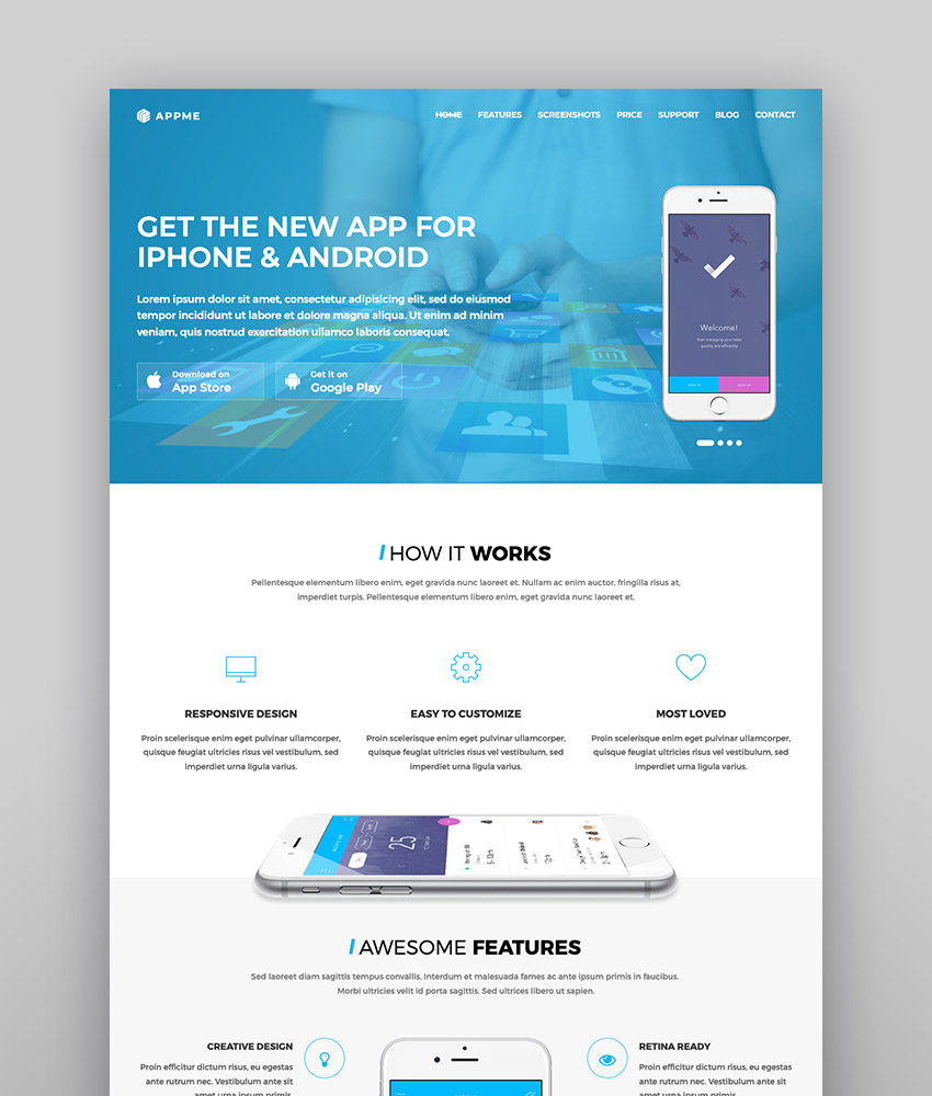 17+ Best Mobile App & Software WordPress Themes for 2019