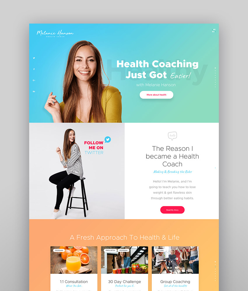 19+ Best WordPress Themes for Consultants & Coaches (2019)