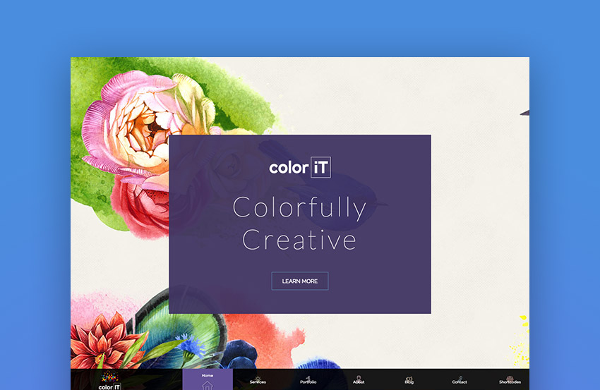 Color Folio - Portfolio Color Theme