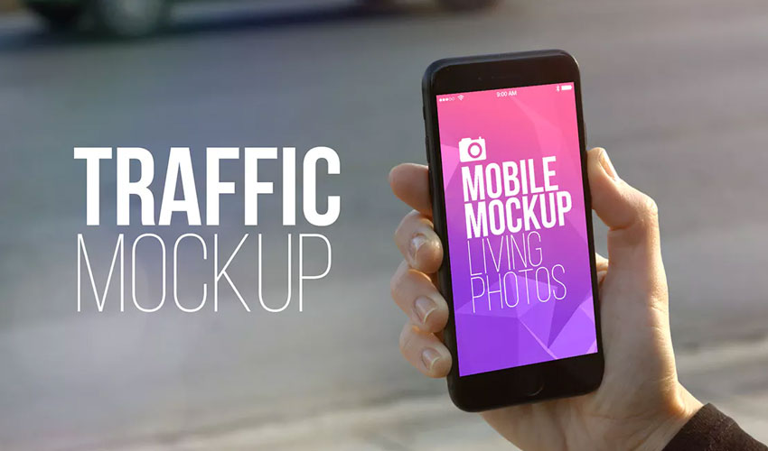 Mobile Mockup Living Photos