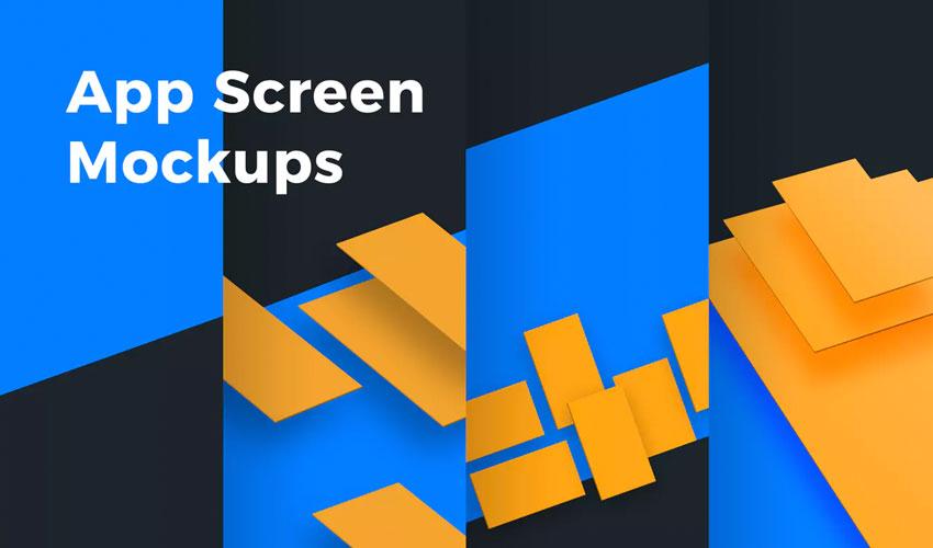 App Screen Mockups