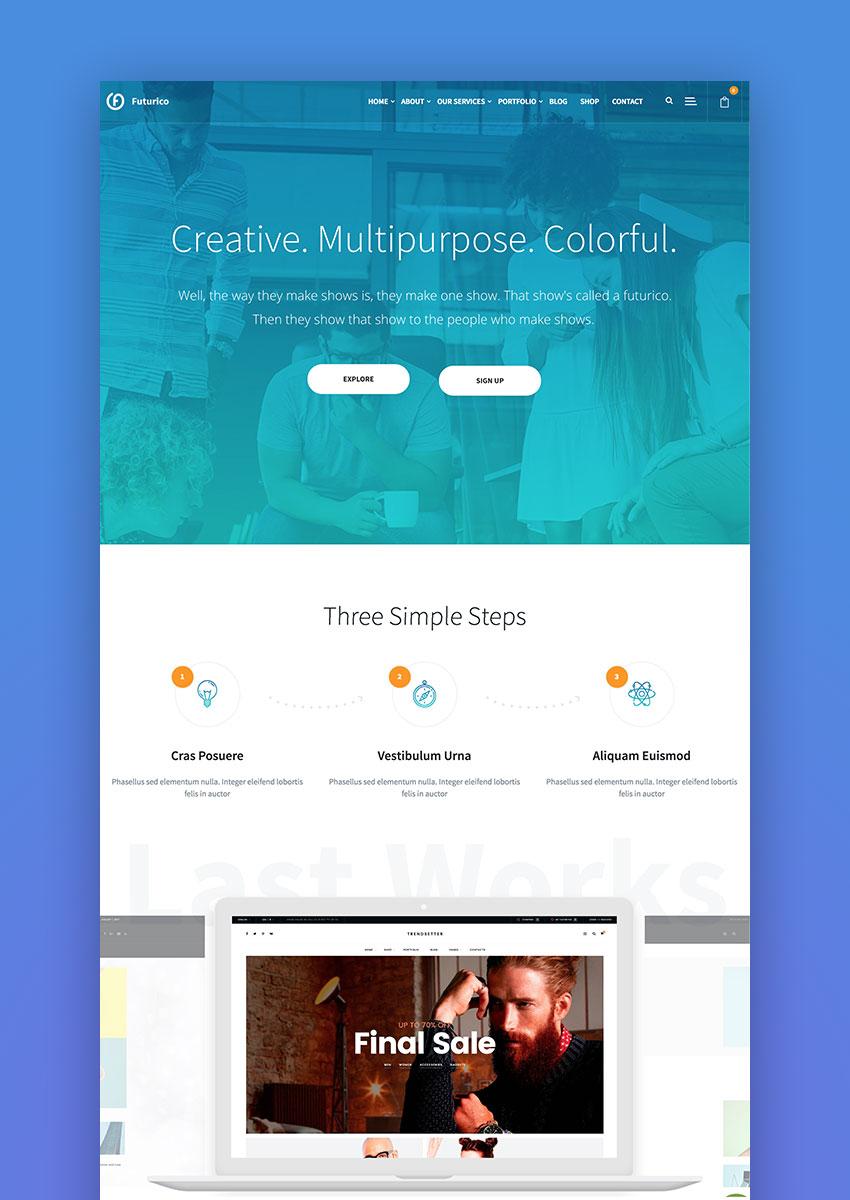Futurico - Business WordPress Theme