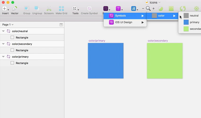 How to Create a Dynamic Icon Library With Sketch