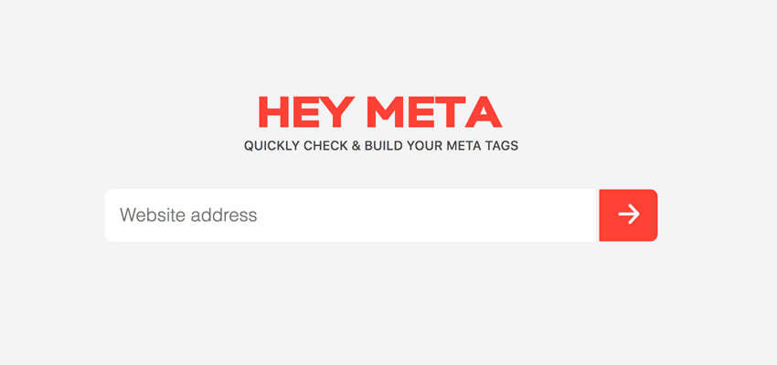 hey meta input field