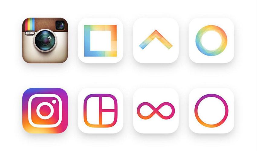 instagram logos