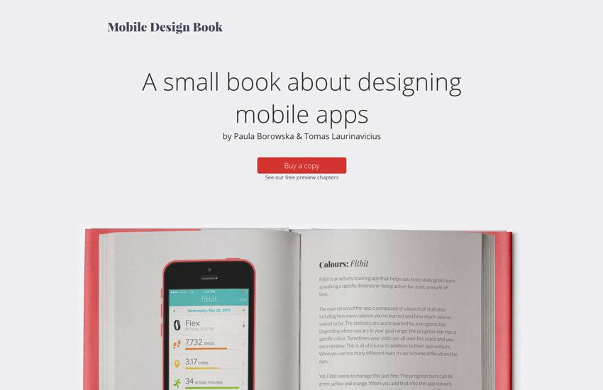 Shameless plug alert mobiledesignbookcom is a book I myself co-wrote