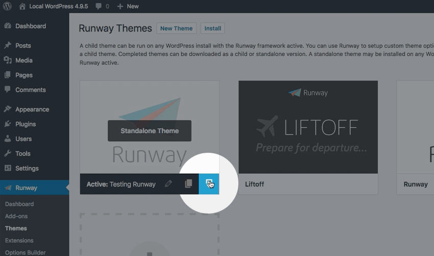 Getting Started With Runway for WordPress
