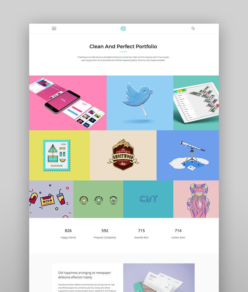 Insomnia - Beautiful WordPress Theme for Creatives