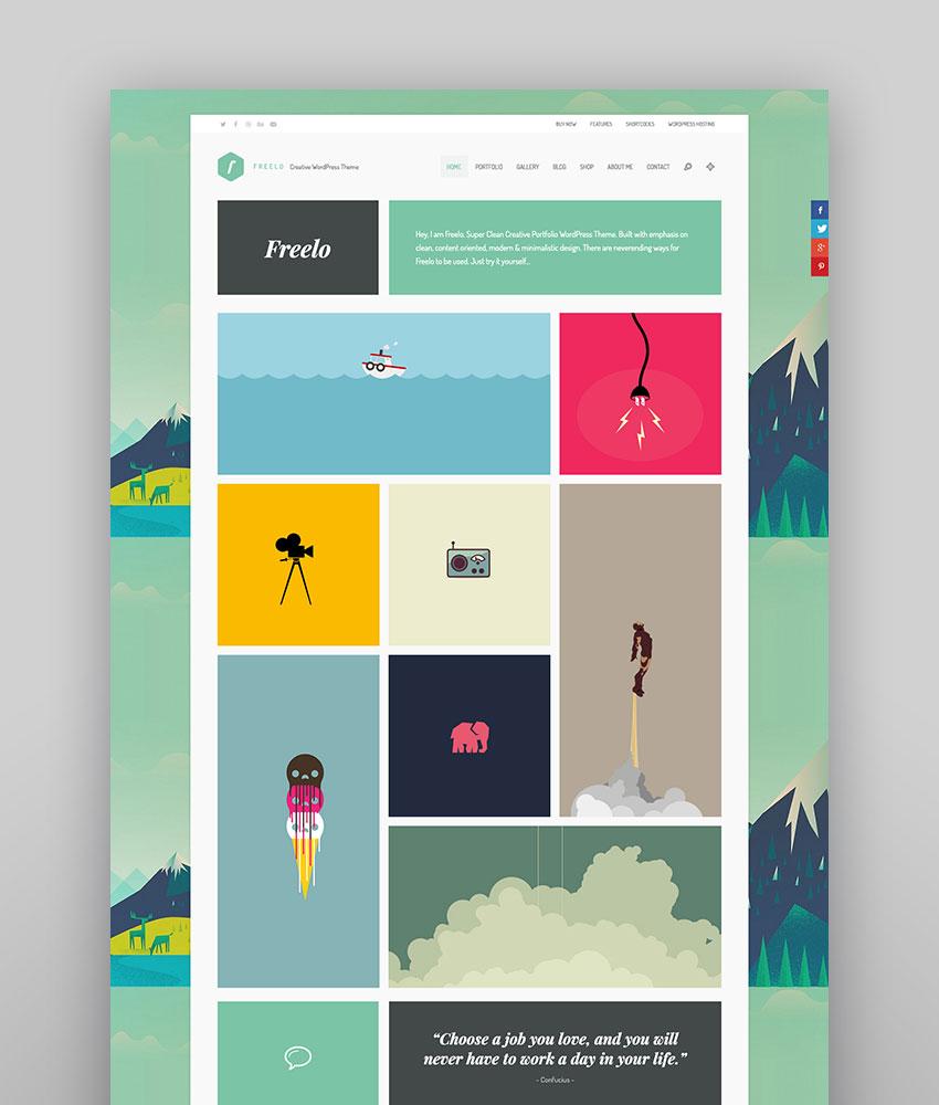 Freelo WP - Quirky Creative WordPress Theme