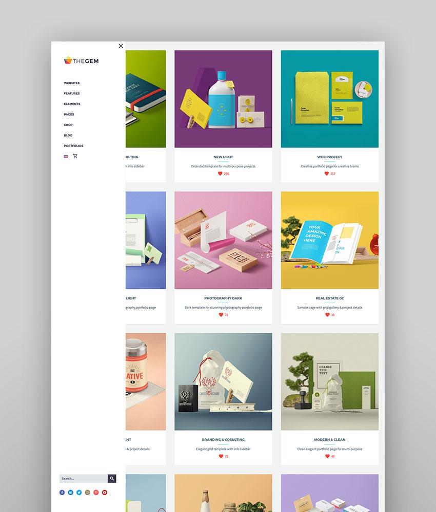 TheGem - Multipurpose WordPress Theme for Creatives