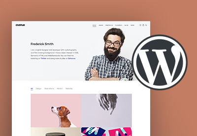Wordpress creative portfolio themes