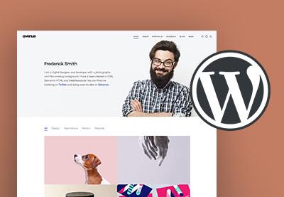 Wordpress creative portfolio themes