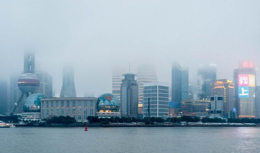 Shanghai skyline Shanghai China