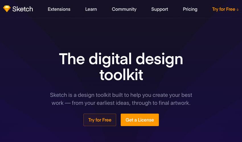 Sketch digital design tool