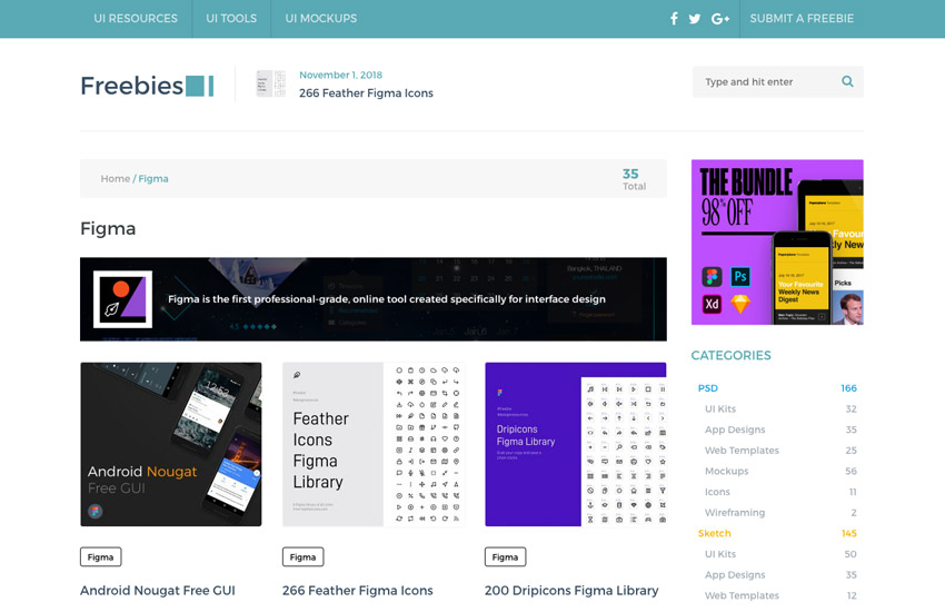 The Best Free Figma Resources: Templates, Icons, UI Kits