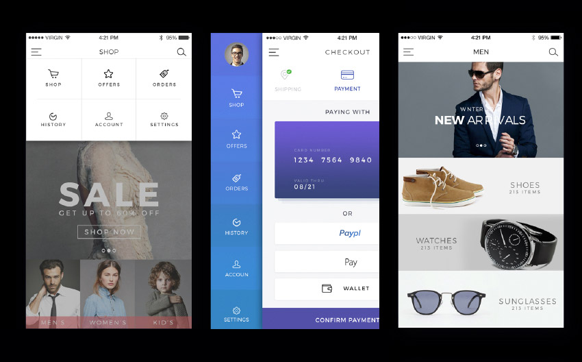Best-Selling UX and UI Kits for Sketch, Photoshop, Illustrator, XD