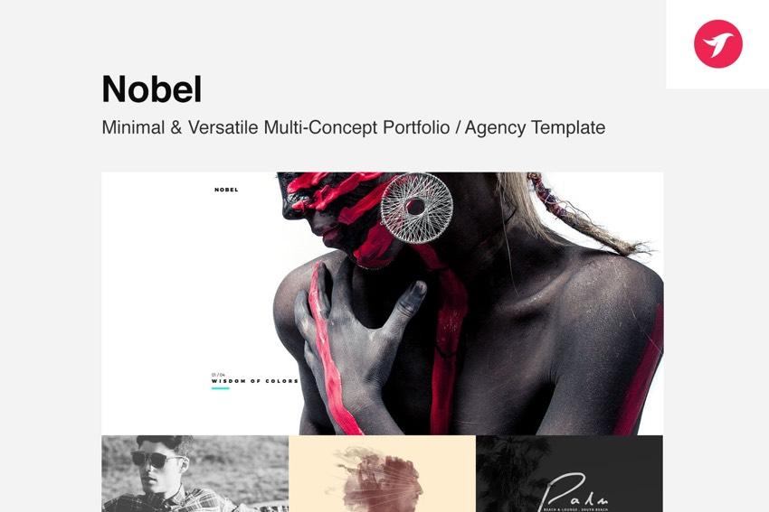 Nobel - Minimal  Versatile Multi-Concept Template