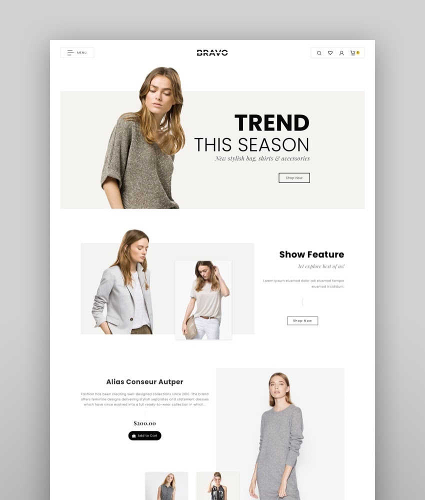 Bravo - Shopify Multi-Purpose Responsive Theme