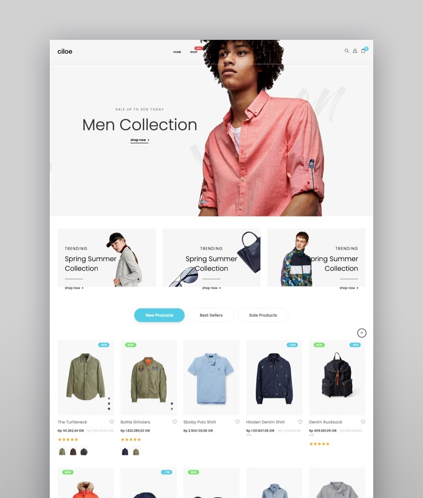 Ciloe - Minimal Clean  Beautiful Shopify Theme