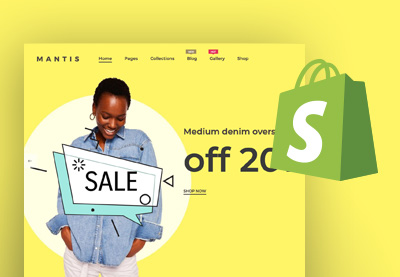 Shopify pre