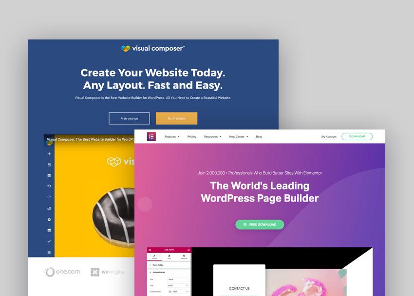 Visual Composer Website Builder Vs Elementor