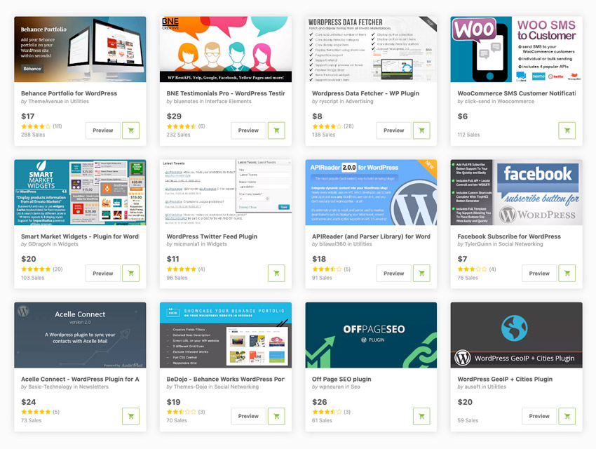 api wordpress plugins on codecanyon