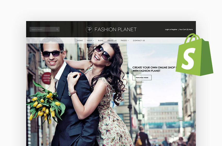 Fashion Planet Responsive Theme