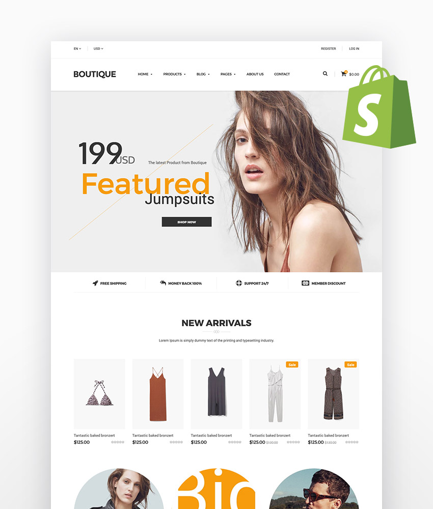 Fashion Boutique - Responsive Shopify Theme