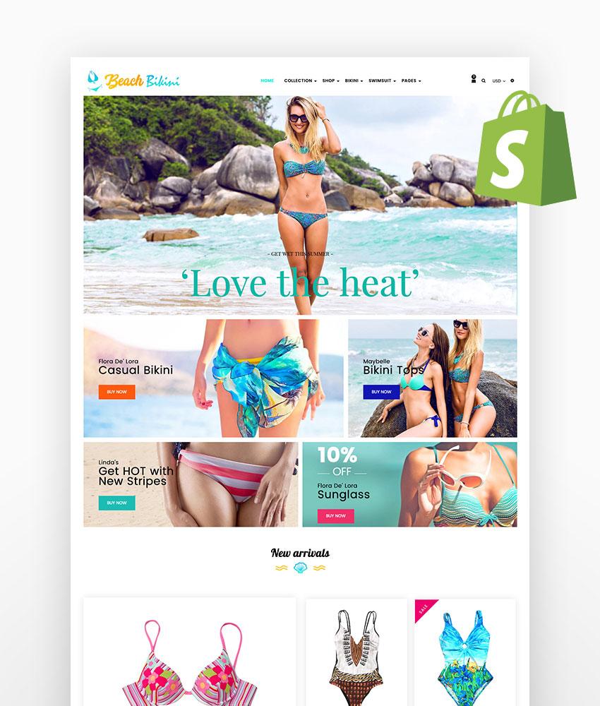 Bikini Beach Shopify Theme