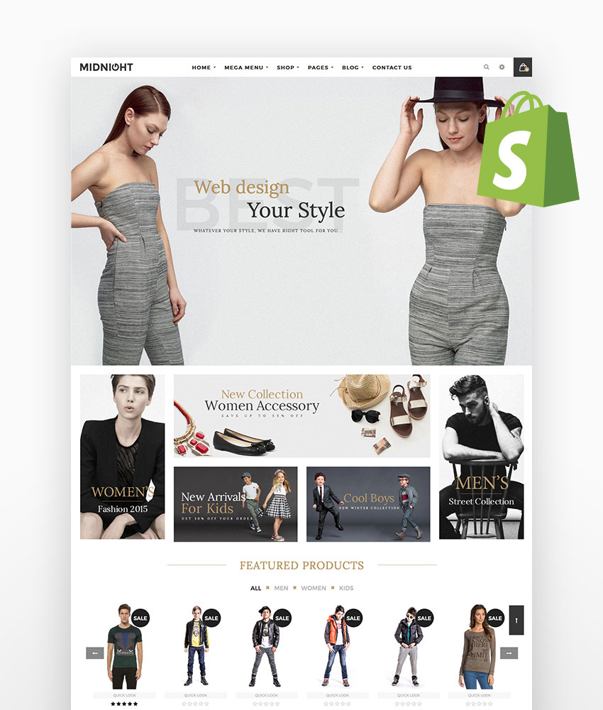 Midnight Responsive Shopify Theme