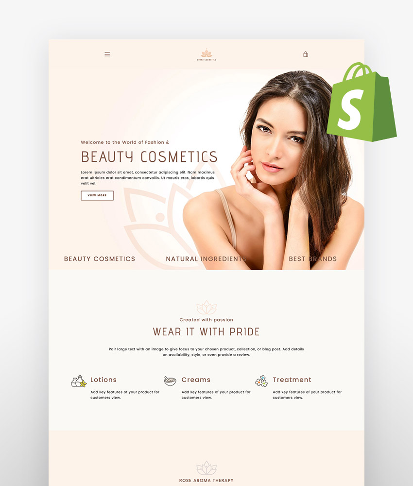 Simba Beauty Shopify Theme