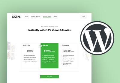 Wordpress subscription themes