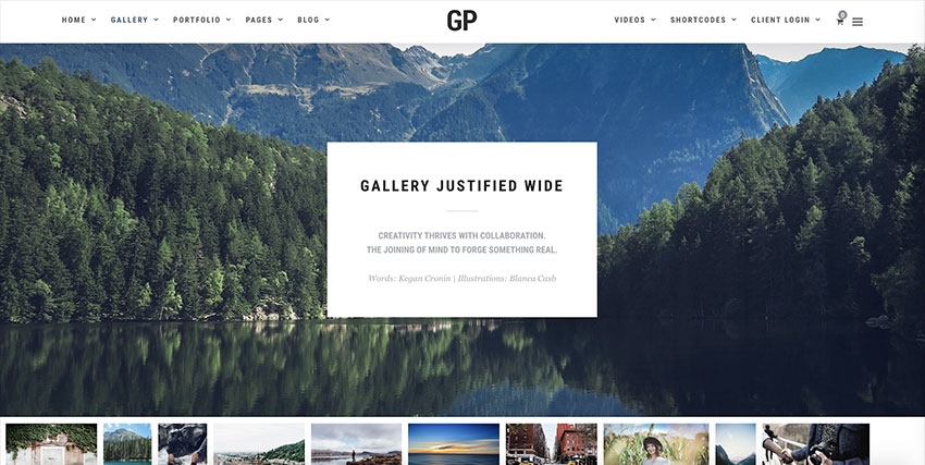 Grand Photography WordPress