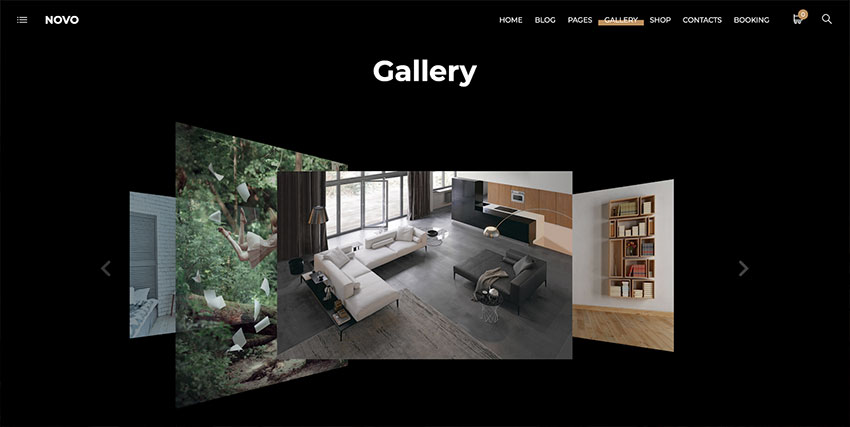 Novo  Photography WordPress Theme