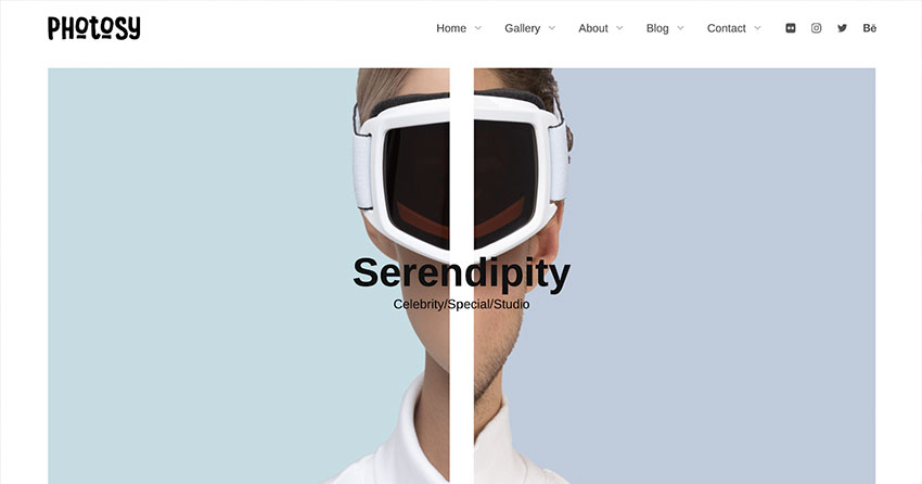 Photosy - Photography WordPress Theme