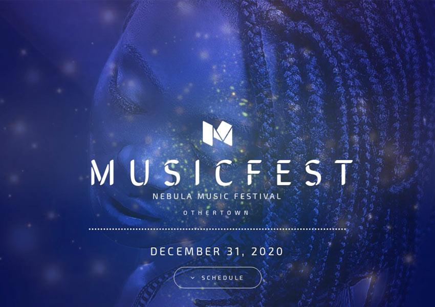 Music Festival  Home 1