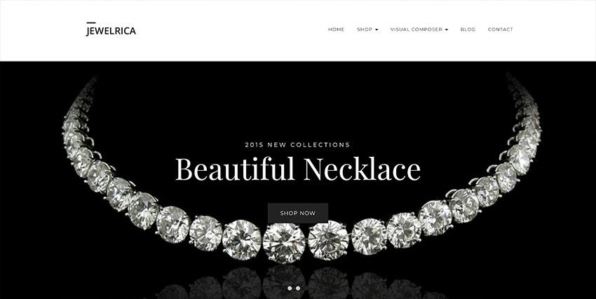 Jewelrica - eCommerce WordPress Theme