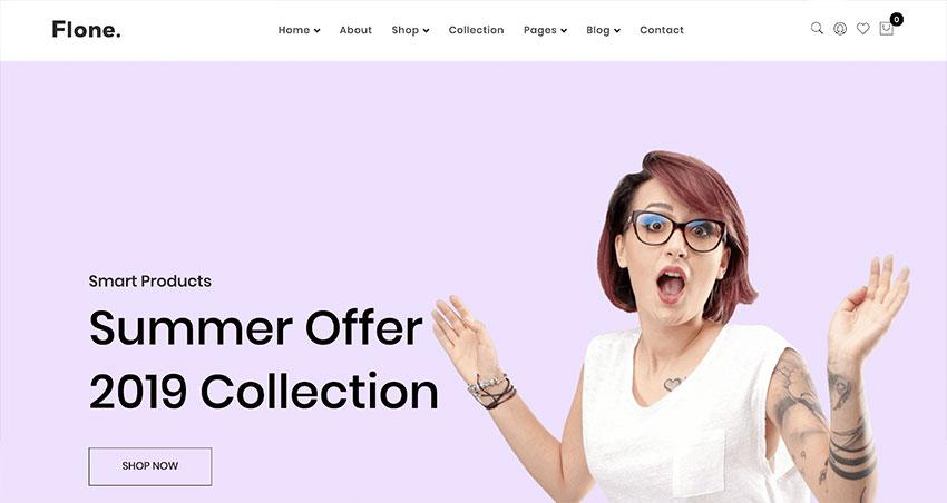 Flone  Minimal WooCommerce WordPress Theme