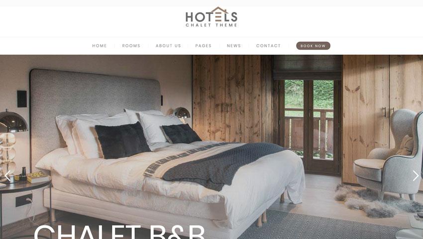 Hotel Booking tema WordPress para reservas de hotel y alquiler apartamentos