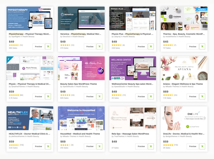 Best Chiropractor  Physiotherapy WordPress Themes to Download 2020