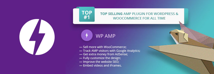 WP AMP  Accelerated Mobile Pages for WordPress and WooCommerce