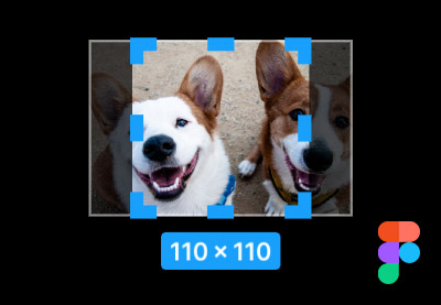 Image of figma image resize small
