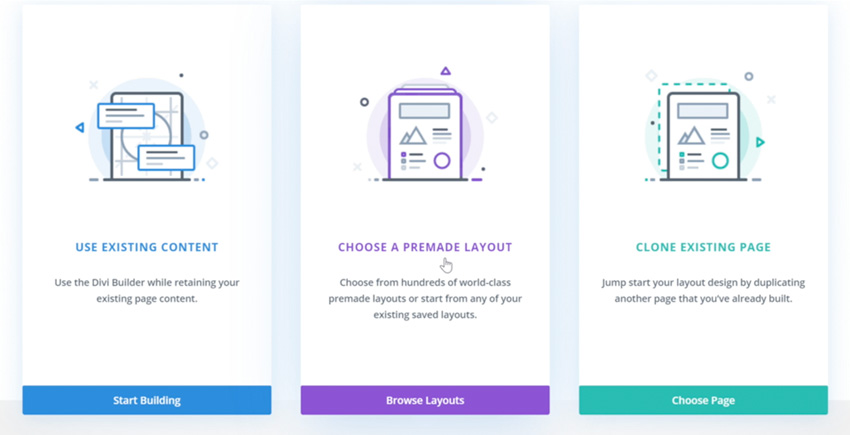 Choose a Premade Layout