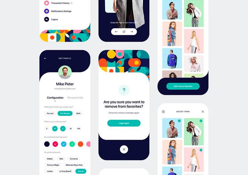 Outfitr - Fashion UI Kit