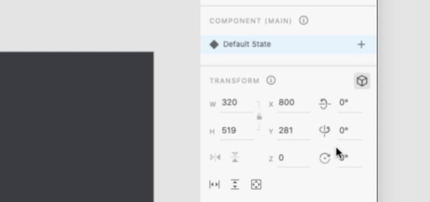 new transform controls