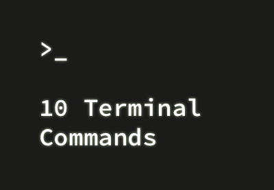 Preview for 10 Terminal Commands That Every Mac User Should Know