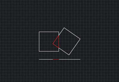 Collision Detection Using the Separating Axis Theorem