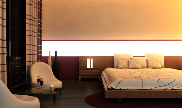 Modeling rendering an interior scene using 3ds max and for 3ds max interior design files