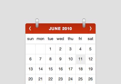 How to Build a Beautiful Calendar Widget
